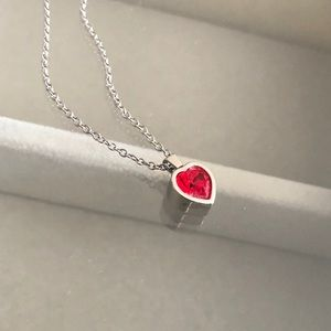 SWATCH Heart Pendant Necklace